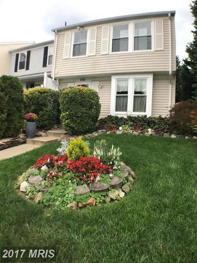 Townhouse For Sale: 4737 Hedrick Lane