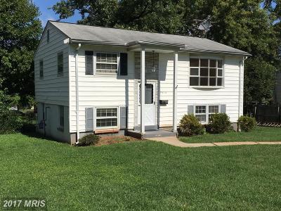 Manassas Single Family Home For Sale: 9410 Westmoreland Avenue