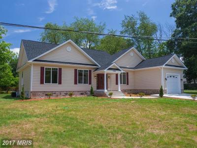 Manassas Single Family Home For Sale: 7605 Poplar Street