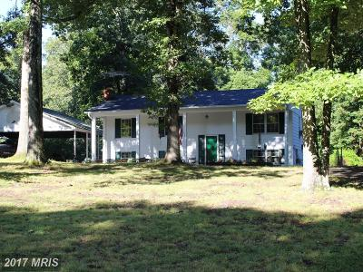 Prince William Single Family Home For Sale: 9512 Silas Drive
