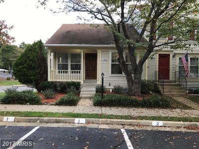 Dumfries Townhouse For Sale: 15007 Bridgeport Drive