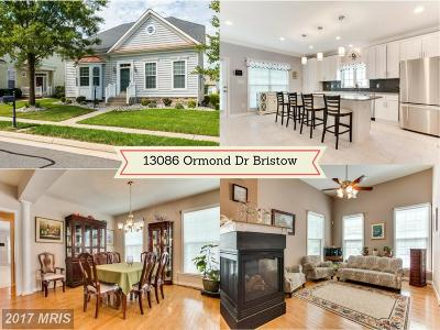 Bristow Single Family Home For Sale: 13086 Ormond Drive