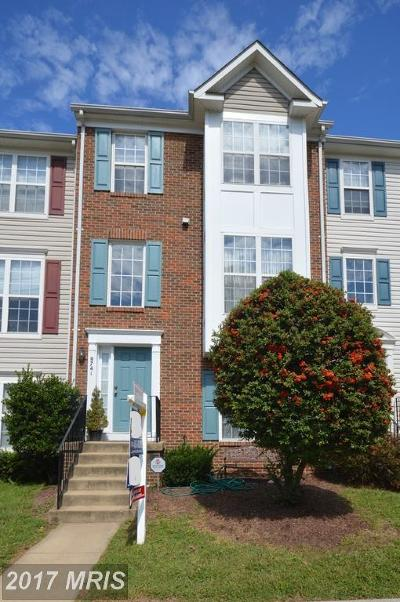 Bristow VA Townhouse For Sale: $320,000