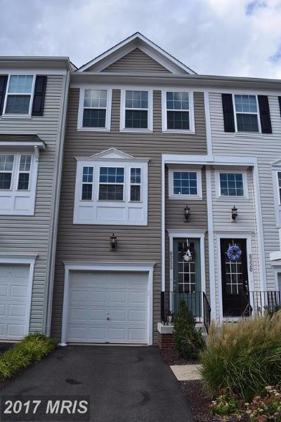 Manassas Townhouse For Sale: 8222 Heritage Crossing Court