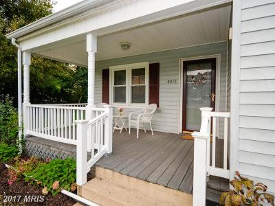 Manassas Single Family Home For Sale: 8512 Rolling Road