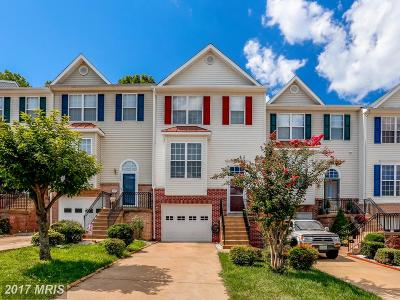 Woodbridge Townhouse For Sale: 3404 Brahms Drive