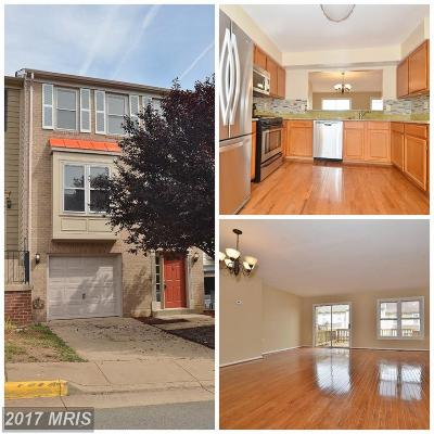 Manassas Townhouse For Sale: 10462 Saint Croix Lane