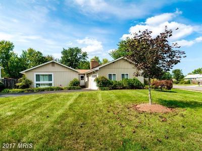 Manassas Single Family Home For Sale: 7632 Bland Drive