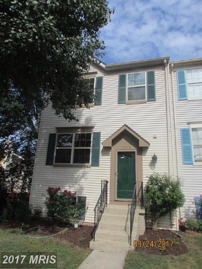 Manassas Townhouse For Sale: 7514 Tendring Trail
