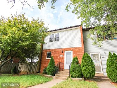 Manassas Townhouse For Sale: 8238 Wycliffe Court