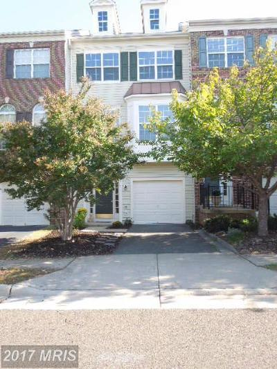 Bristow Townhouse For Sale: 9717 Kennoway Court