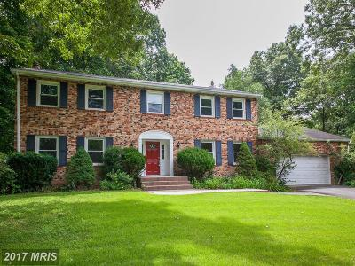 Manassas Single Family Home For Sale: 8155 Blandsford Drive