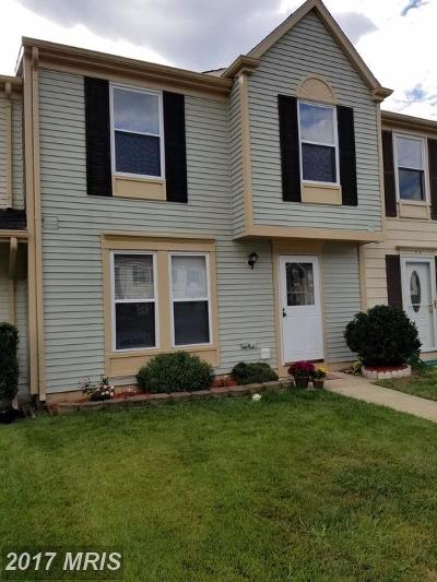 Woodbridge VA Townhouse For Sale: $245,000