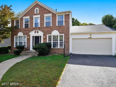Prince William Single Family Home For Sale: 3481 Lacrosse Court