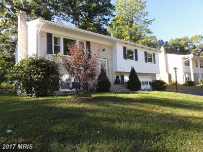 Manassas Single Family Home For Sale: 7421 Norwalk Court