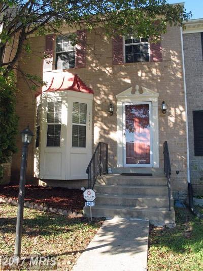Woodbridge Townhouse For Sale: 13415 Pomander Loop