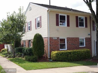 Manassas Townhouse For Sale: 8601 Newton Place