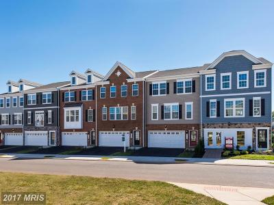 Manassas Townhouse For Sale: 8926 Englewood Farms Drive