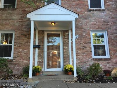 Woodbridge Townhouse For Sale: 16620 Geddy Court