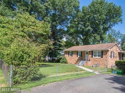 Manassas Single Family Home For Sale: 7403 Garrison Road
