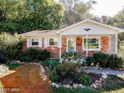 Woodbridge Single Family Home For Sale: 4223 Glendale Road