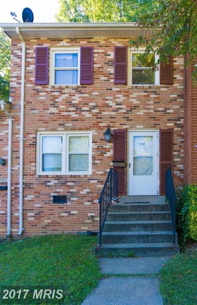 Woodbridge Townhouse For Sale: 14388 Fontaine Court