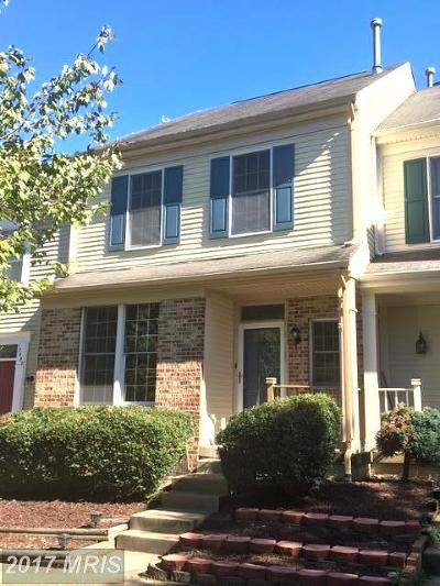 Woodbridge Townhouse For Sale: 12325 Manchester Way