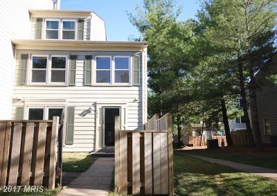 Manassas Townhouse For Sale: 7624 Jordon Hollow Court