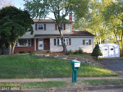 Manassas Single Family Home For Sale: 8305 Rolling Road
