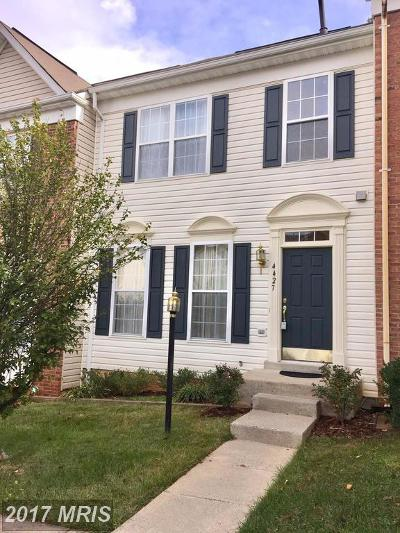 Woodbridge Townhouse For Sale: 4427 Torrence Place
