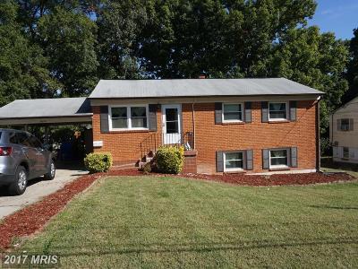 Woodbridge Single Family Home For Sale: 1610 Florida Avenue
