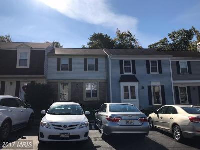 Woodbridge Townhouse For Sale: 3165 Harvard Street