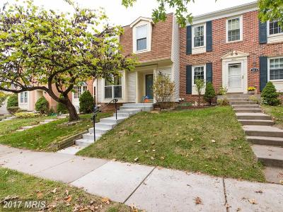 Prince William Townhouse For Sale: 3812 Ogilvie Court