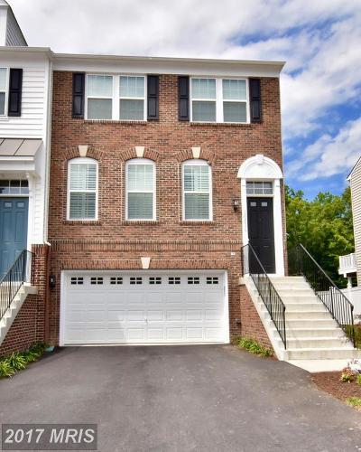 Woodbridge Townhouse For Sale: 16634 Danridge Manor Drive