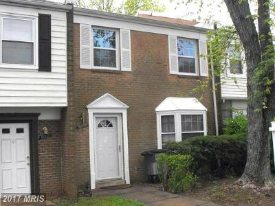 Manassas VA Townhouse For Sale: $195,000