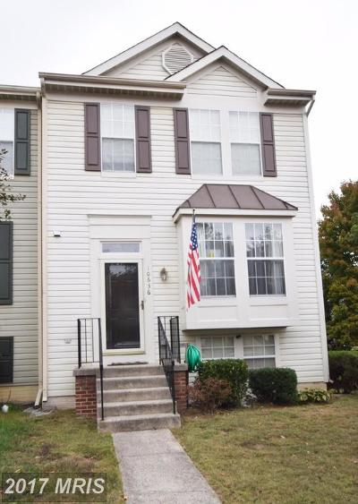 Manassas Townhouse For Sale: 10636 Winfield Loop