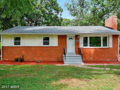 Manassas Single Family Home For Sale: 8502 Spruce Street
