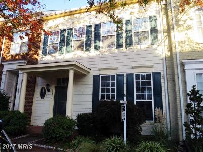 Woodbridge Townhouse For Sale: 13754 Fleet Street