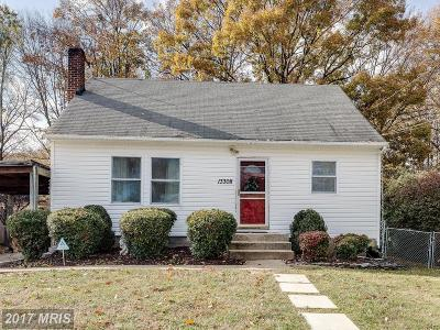 Woodbridge VA Single Family Home For Sale: $285,000