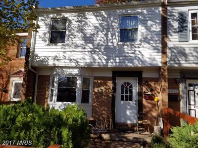 Irongate Townhouse For Sale: 8241 Community Drive