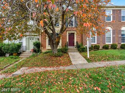 Woodbridge Townhouse For Sale: 12102 Stoneford Drive