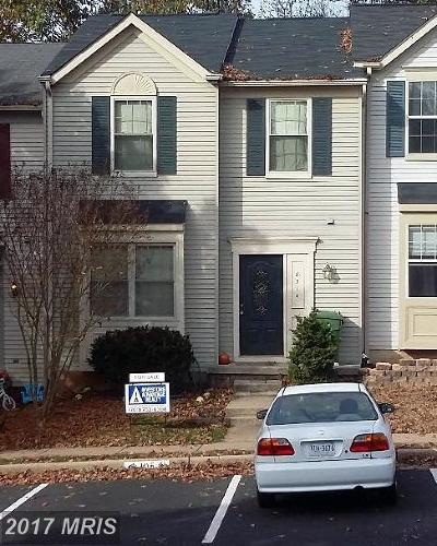Manassas Townhouse For Sale: 8514 Charnwood Court
