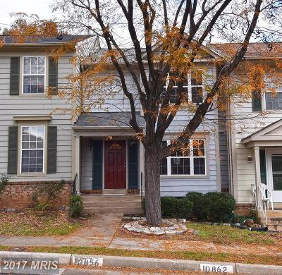 Manassas Townhouse For Sale: 10856 Stone Hill Lane