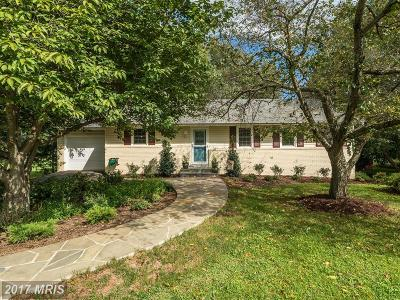 Prince William Single Family Home For Sale: 3703 Sanders Lane
