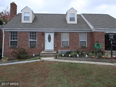 Woodbridge VA Single Family Home For Sale: $338,400