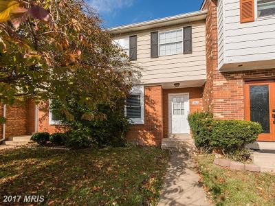 Woodbridge VA Townhouse For Sale: $215,000