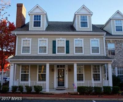 Woodbridge Townhouse For Sale: 814 Monument Avenue