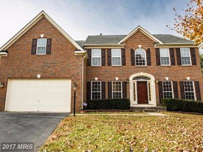 Manassas Single Family Home For Sale: 15424 Milton Hall Place