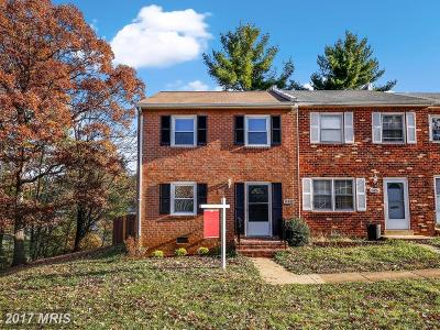 Woodbridge VA Townhouse For Sale: $232,500