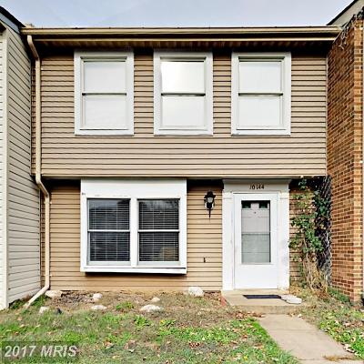 Manassas Townhouse For Sale: 10144 Statesboro Court